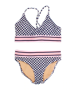 2pc tie back bikini