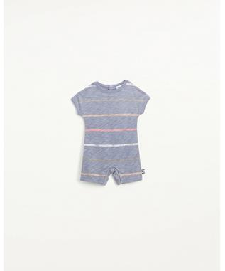 PAINTED STRIPE COVERALL