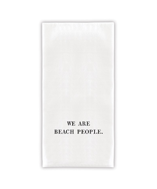 WE ARE BEACH PEOPLE TOWELS