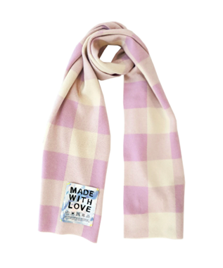 CASHMERE GINGHAM SCARF