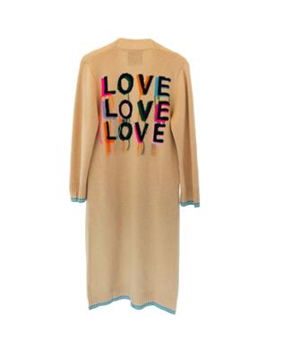 LOVE ON REPEAT SUPER LONG CARDI