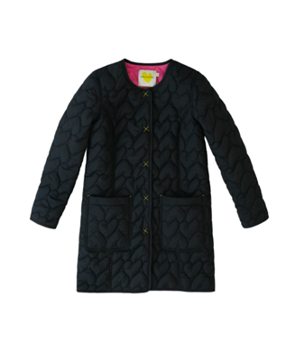IMPERFECT HEART QUILTED REVERSIBLE COAT