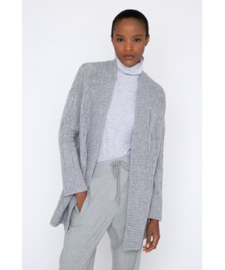 LUXE CABLE CARDIGAN