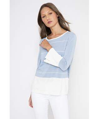 EASY STRIPED PULLOVER