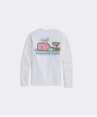 EASTER WHALE PKT TEE