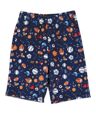 Sports Time Plush Shorts