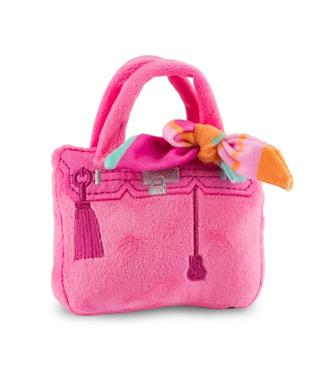 BARKIN BAG PINK WITH SCARF - LARGE