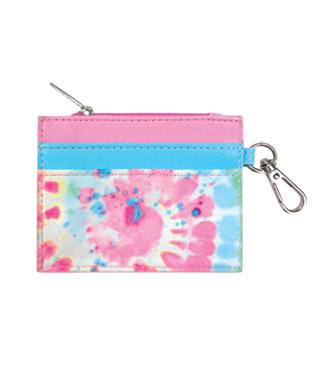 Swirl Tie Dye Credit Card Holder