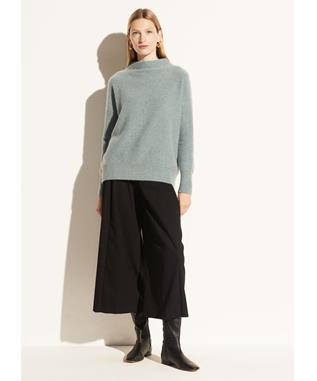 BOILED FUNNEL NK PULLOVER