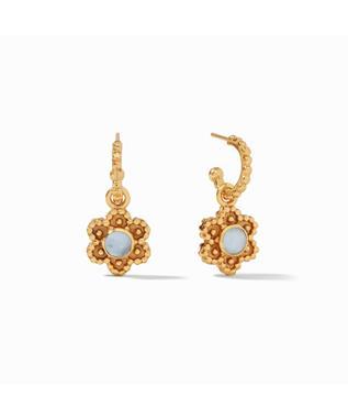 Colette Hoop & Charm Earring