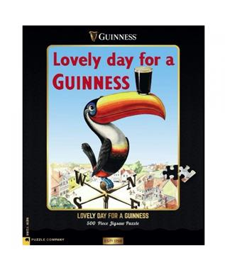 Lovely Day for a Guiness 500 pc puzzle