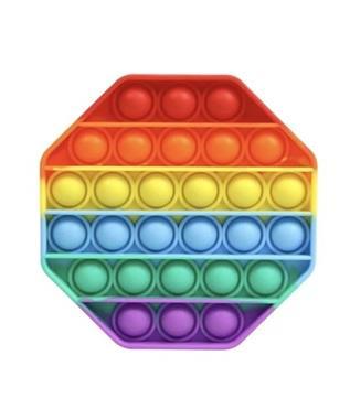 Octagon Rainbow OMG Pop Fidgety