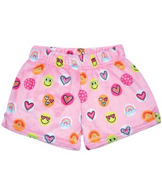 Sunshine Funshine Plush Shorts