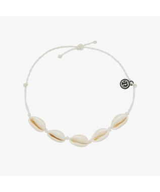 KNOTTED COWRIE ANKLET