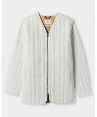 RIBBON QUILTED JACKET