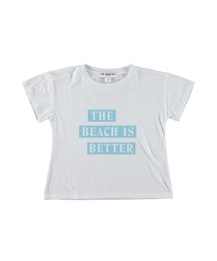 The Beach is Better Crop Tee