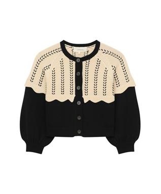 THE SCALLOP SOPHOMORE CARDIGAN