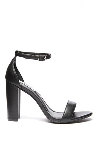 Black Carrson Ankle Strap Sandal BLACK