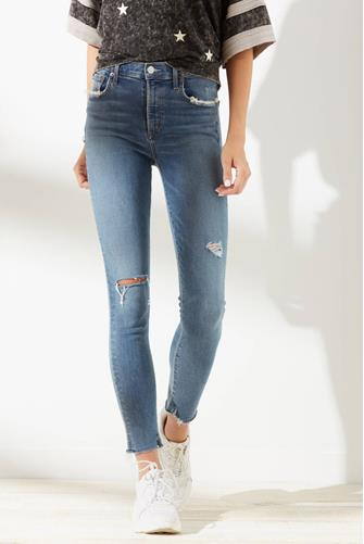 Sophie Skinny Ankle Jean in Pentacle LIGHT DENIM -