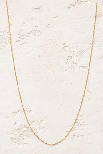 """18"""" Chain Necklace GOLD"""