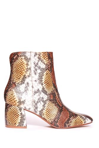 Davianna Bootie YELLOW MULTI -