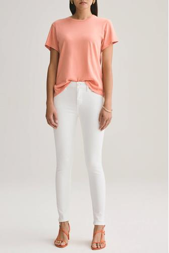 Sophie Skinny Ankle Jean in Phantom WHITE