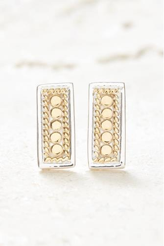 Gold Bar Stud Earrings GOLD