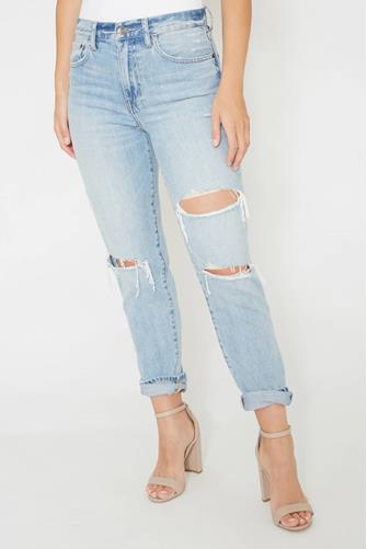 Presley Hi Rise Vintage '90s Jean in Primetime LIGHT DENIM -