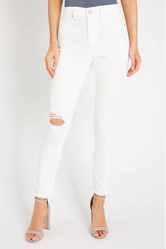 The Great Jones Skinny Jean in Great White WHITE