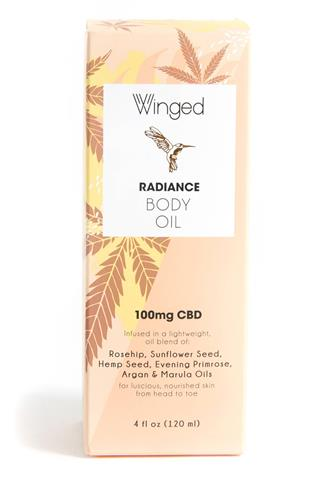 Radiance CBD Body Oil ORANGE MULTI -