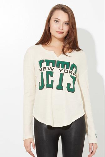New York Jets Sunday Thermal Top OATMEAL