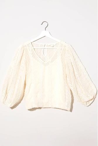 Embroidered Blouse IVORY
