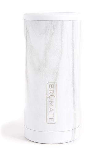 Marble Hopsulator Slim Can Cooler WHITE MULTI -