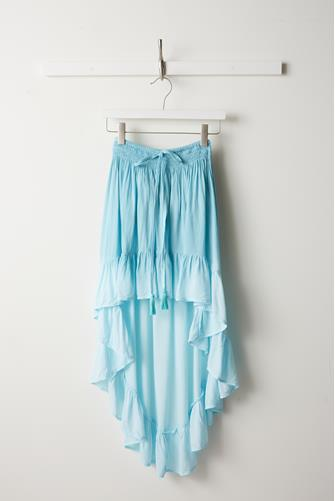 Melody Ocean Hi-Lo Ombre Skirt BLUE MULTI -