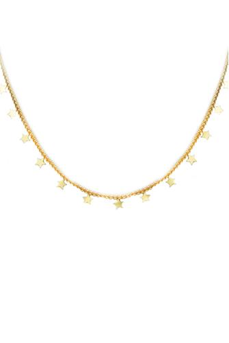 Star Charm Gold Necklace GOLD