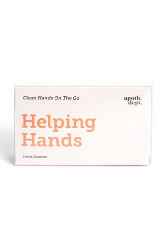 Helping Hands Wipes WHITE