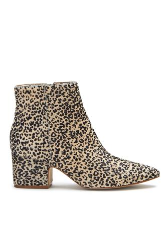 Goldie Mini Leopard Bootie WHITE MULTI -
