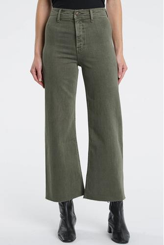 Penny Wide Leg Jean in Forest FOREST GRN