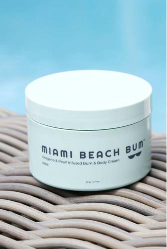Bum Mint, Oregano & Pearl Infused Bum & Body Cream MINT GREEN