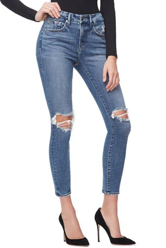 Good Legs Crop Jean MEDIUM DENIM