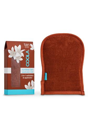 Sunless Tan 2-In-1 Applicator and Exfoliator Mitt BROWN