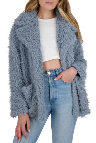 Warming Signs Jacket LITE BLUE