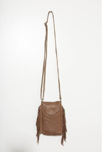 Gerri Phone Case Crossbody Bag BROWN