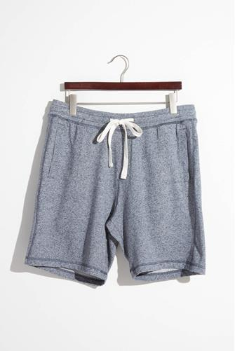 Heather French Terry Short NAVY