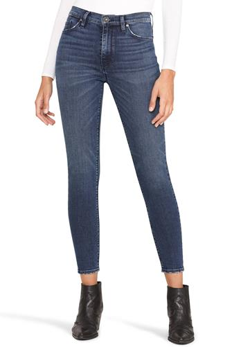 Barbara Hi Rise Skinny Ankle Jean DARK DENIM