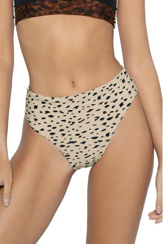 Wild Heart Reversible Hilary Hi Waist Bikini Bottom MULTI