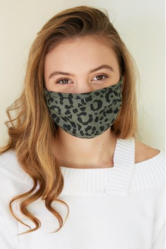 Running Wild Face Mask GREEN MULTI -