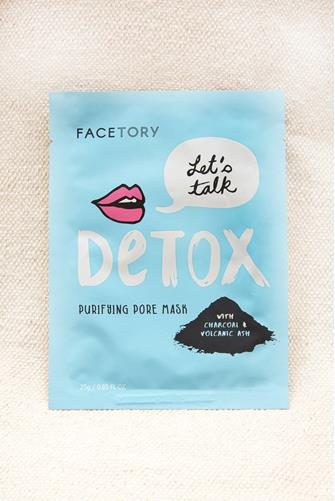 FaceTory Let's Talk Detox Purifying Pore Mask LITE BLUE