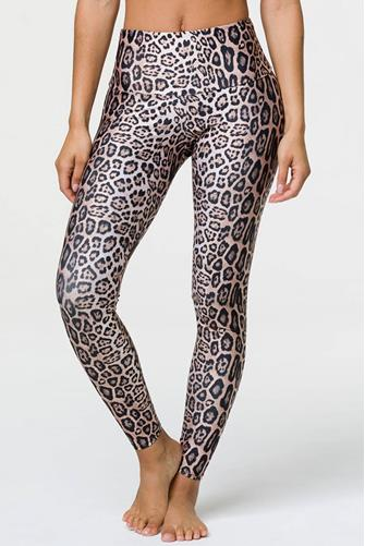 Leopard High Rise Legging MULTI
