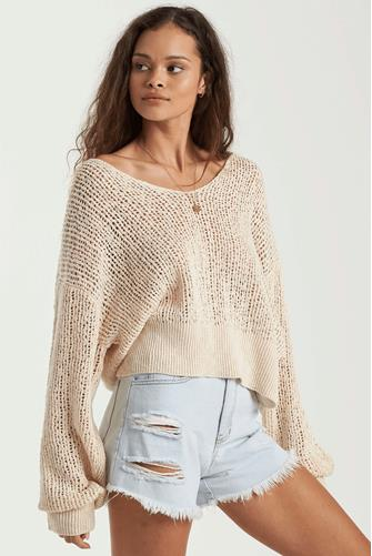 Feel The Breeze Pullover IVORY